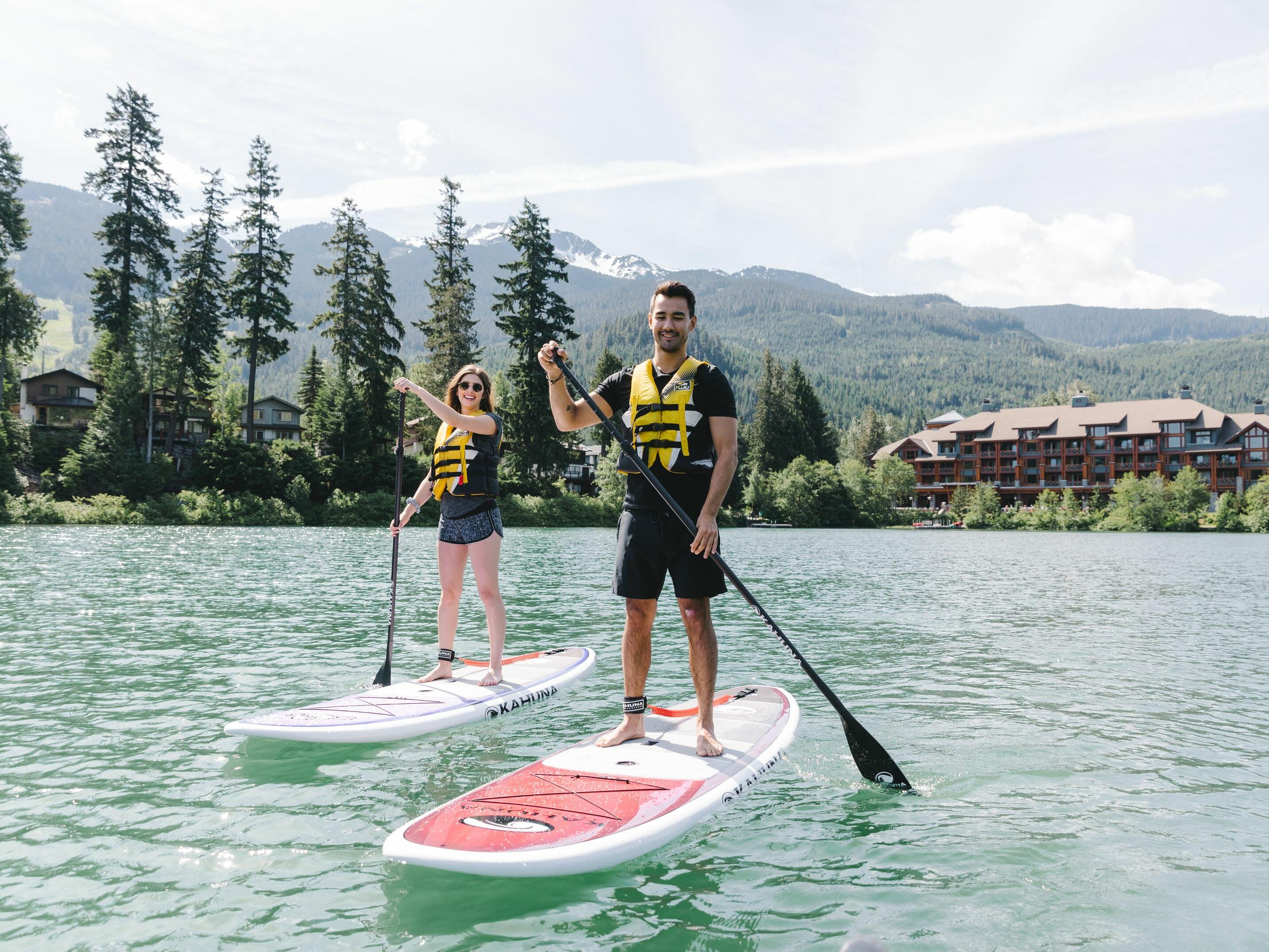 travel to whistler this summer