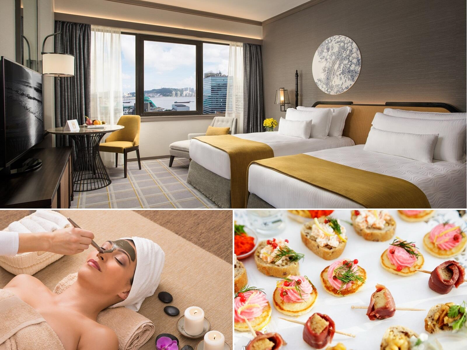 Hollywood twin room at Artyzen Grand Lapa Hotel Macau