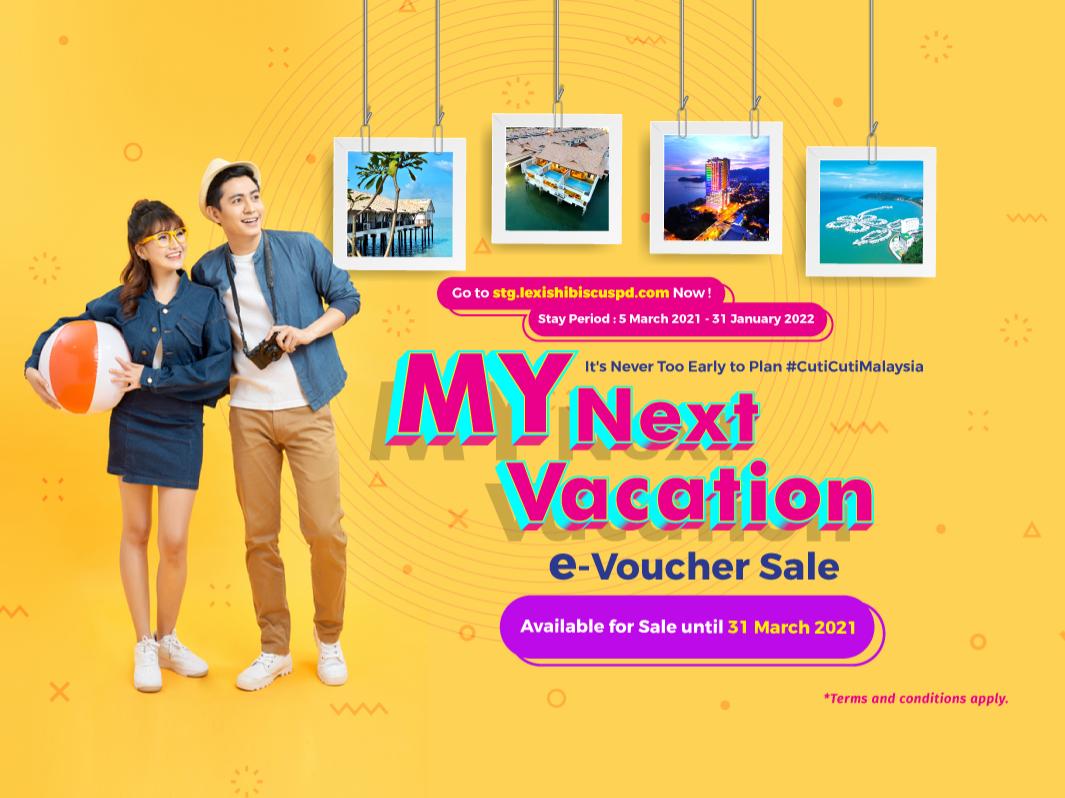 MY Next Vacation e-Voucher Sale