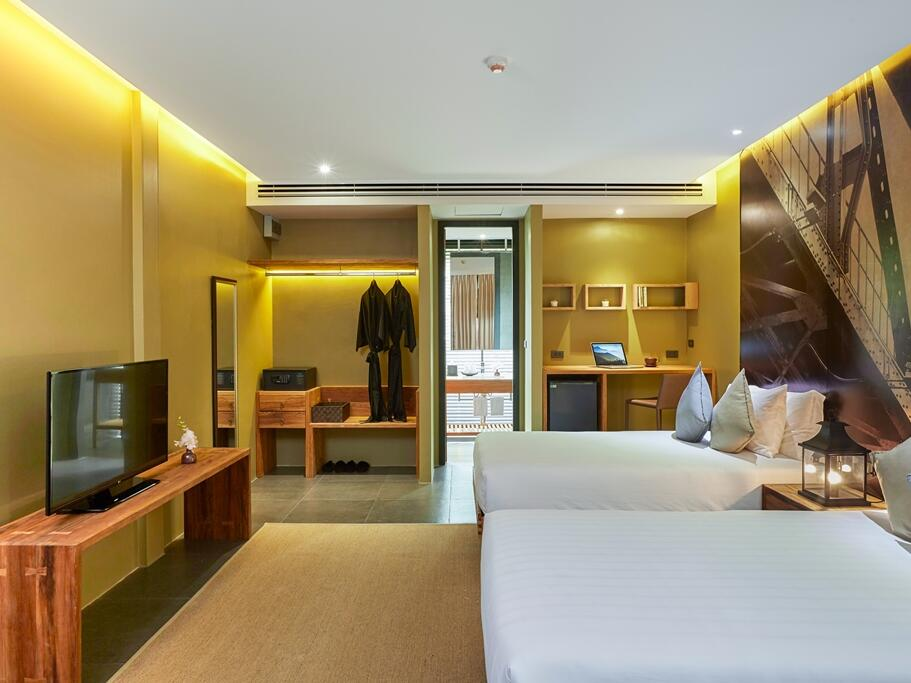Room with two beds  at U Hotels and Resorts