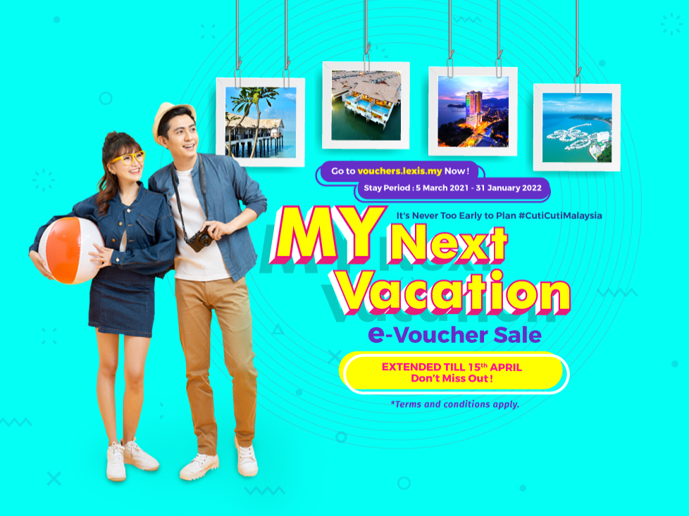 MY Next Vacation e-Voucher Sale