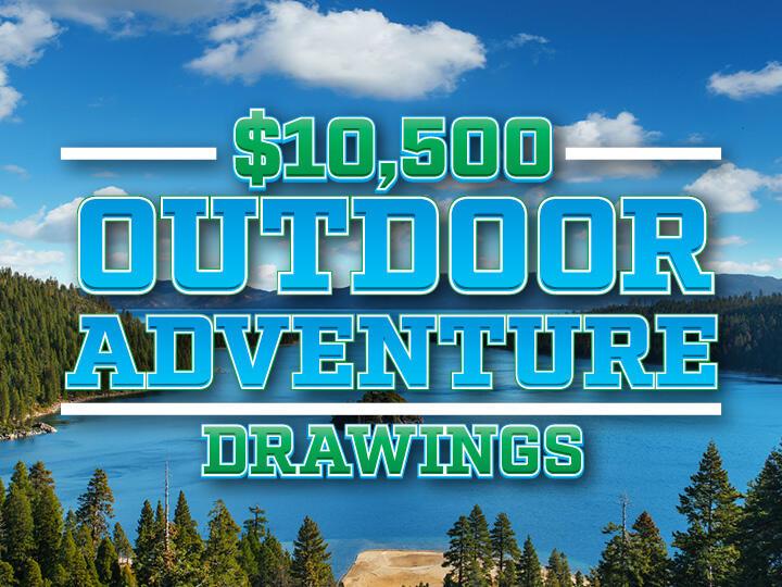 $10,500 Outdoor Adventure Drawing Logo