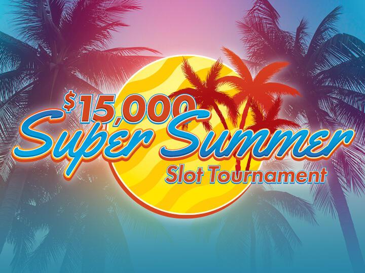 $15,000 Super Summer Slot Tournament Logo
