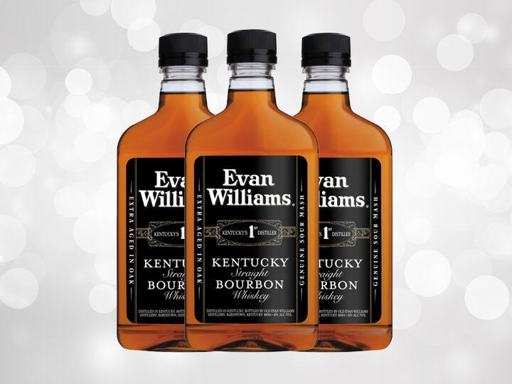 Evan Williams Bourbon Bottles