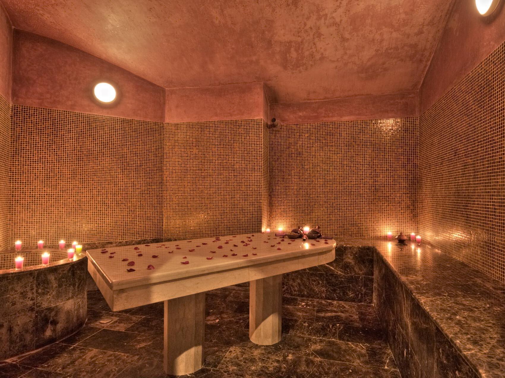Candle-lit Spa - Farah Tanger Hotel