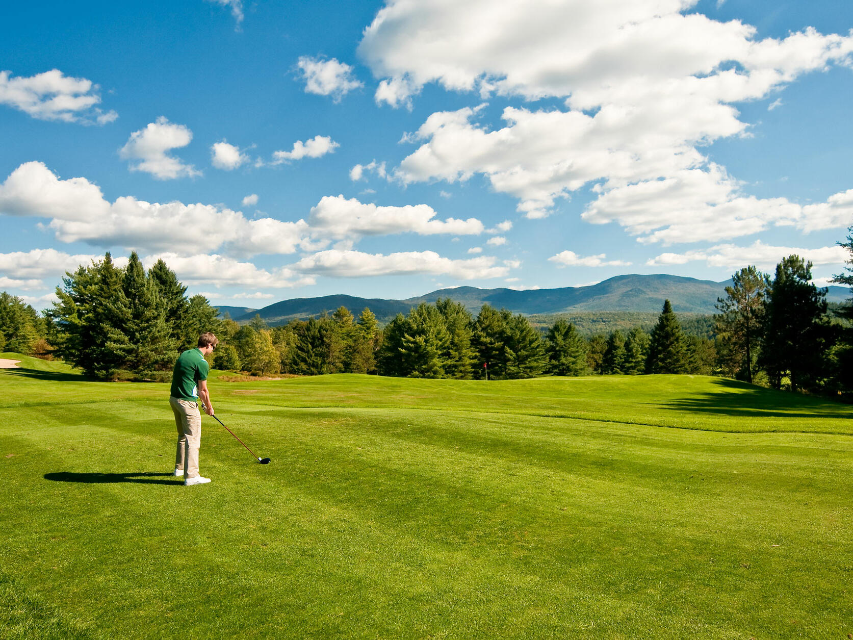 Golf Course at the Stowe Country Club near Topnotch Stowe Resort