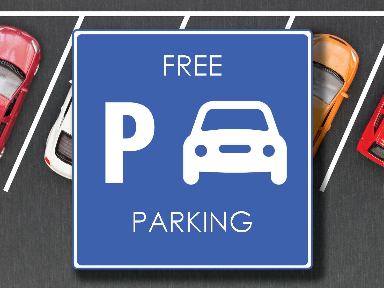 Image of Free parking