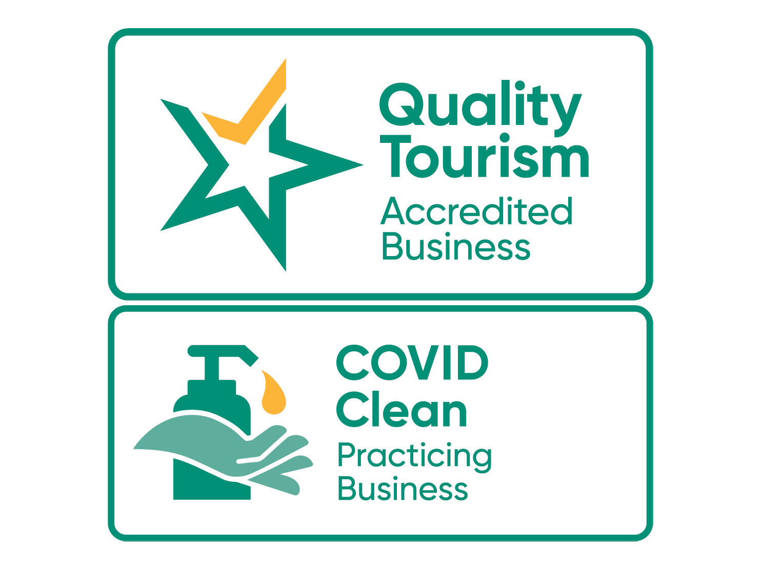 Covid -19 Clean accredited logo