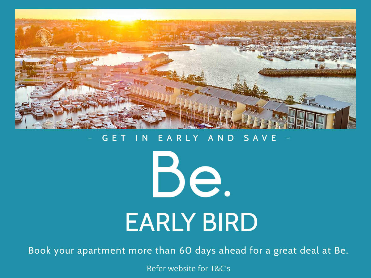 Be Early Bird offer poster