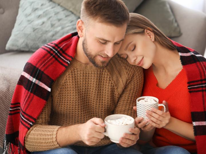 A couple enjoying coffee at Duxton Hotel Perth