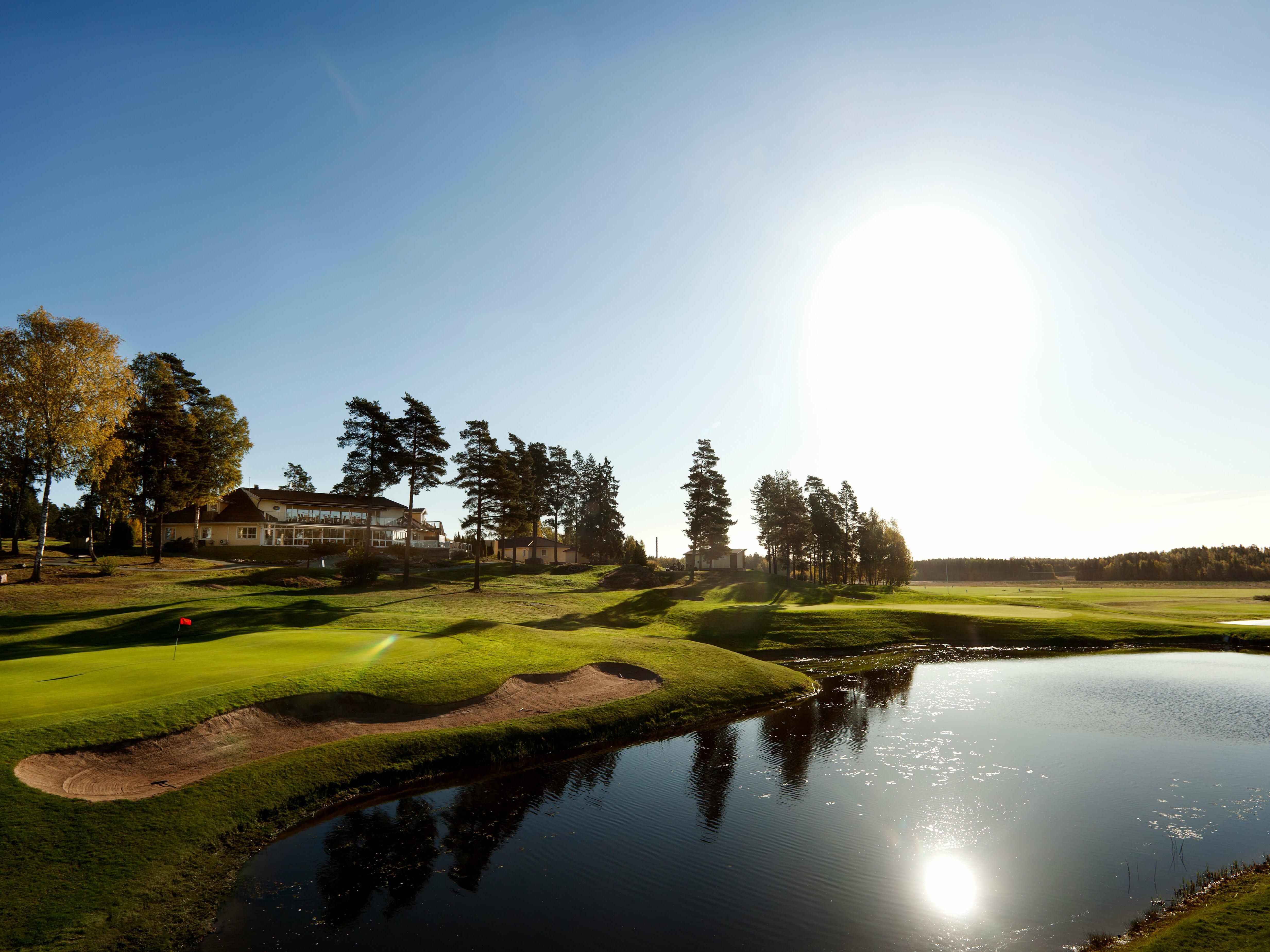 Golf, Spa & Dine at Welcome Hotel in Järfälla near Stockholm