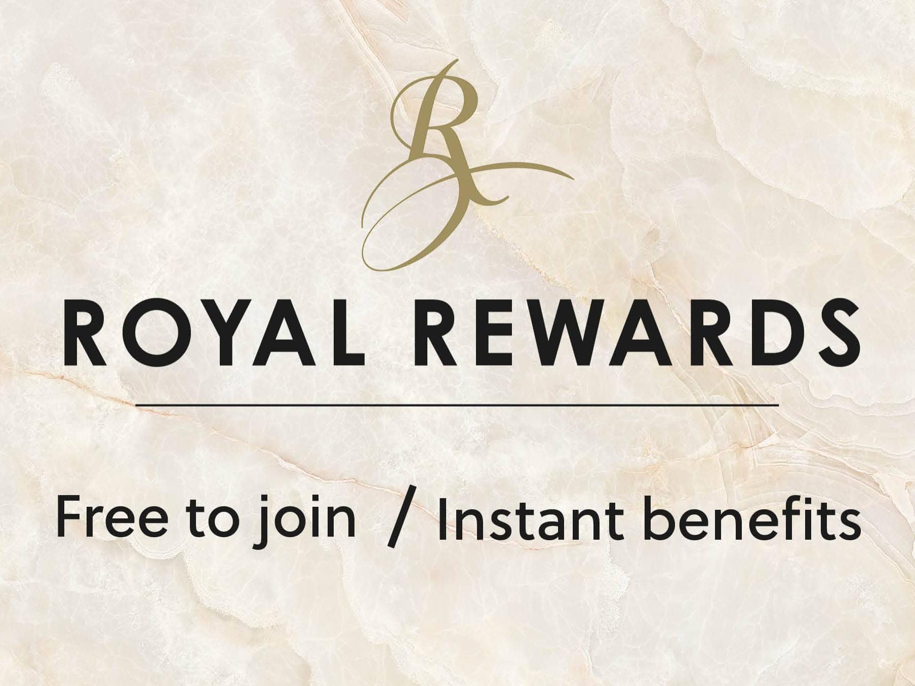 Royal Rewards Design image