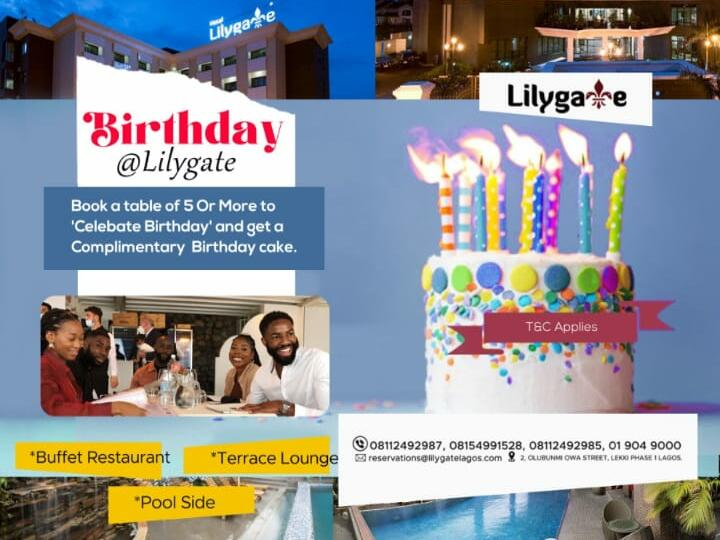 Celebrate with us @ Lilygate