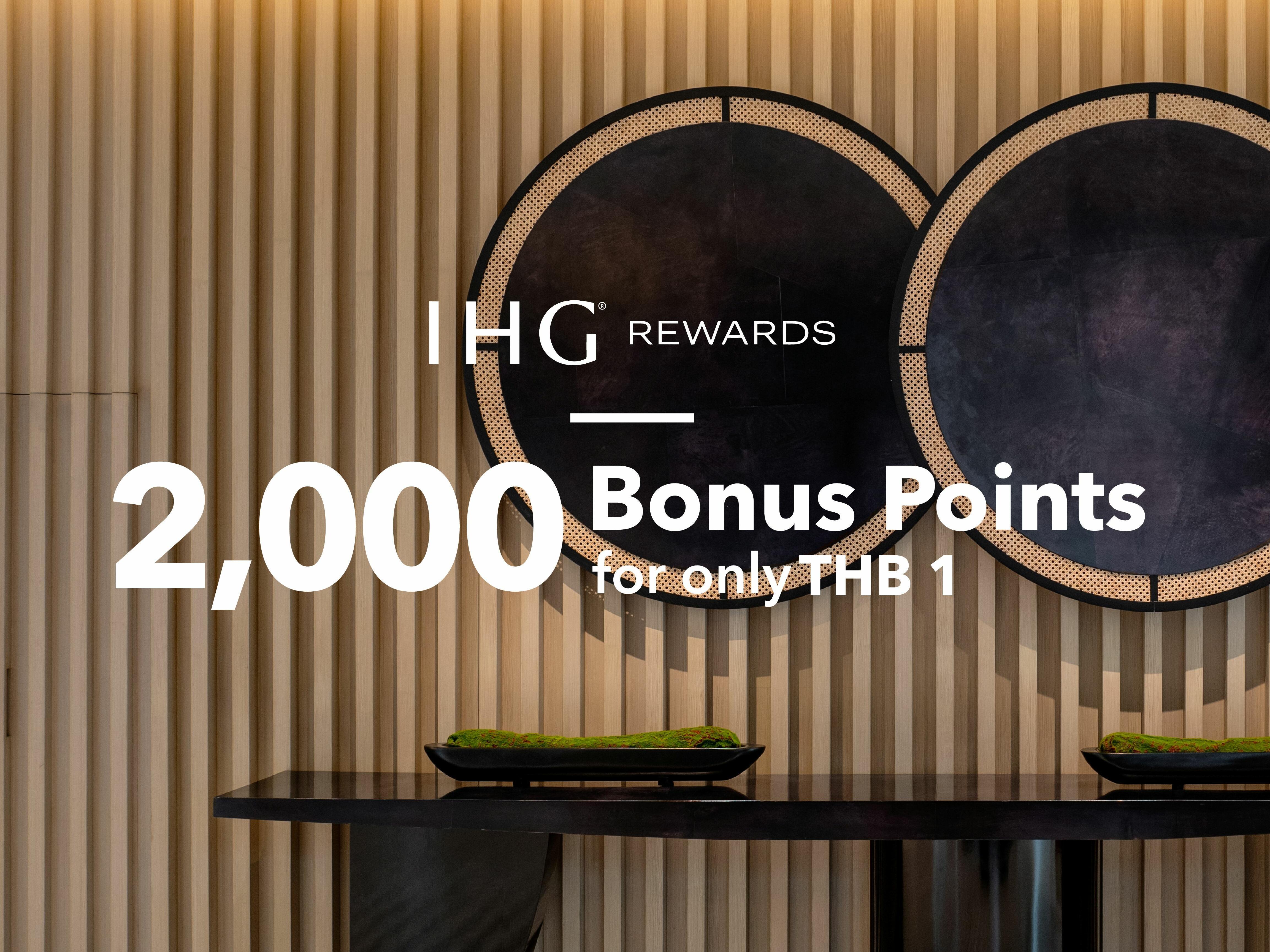 Bonus Points Sindhorn Midtown Hotel Bangkok