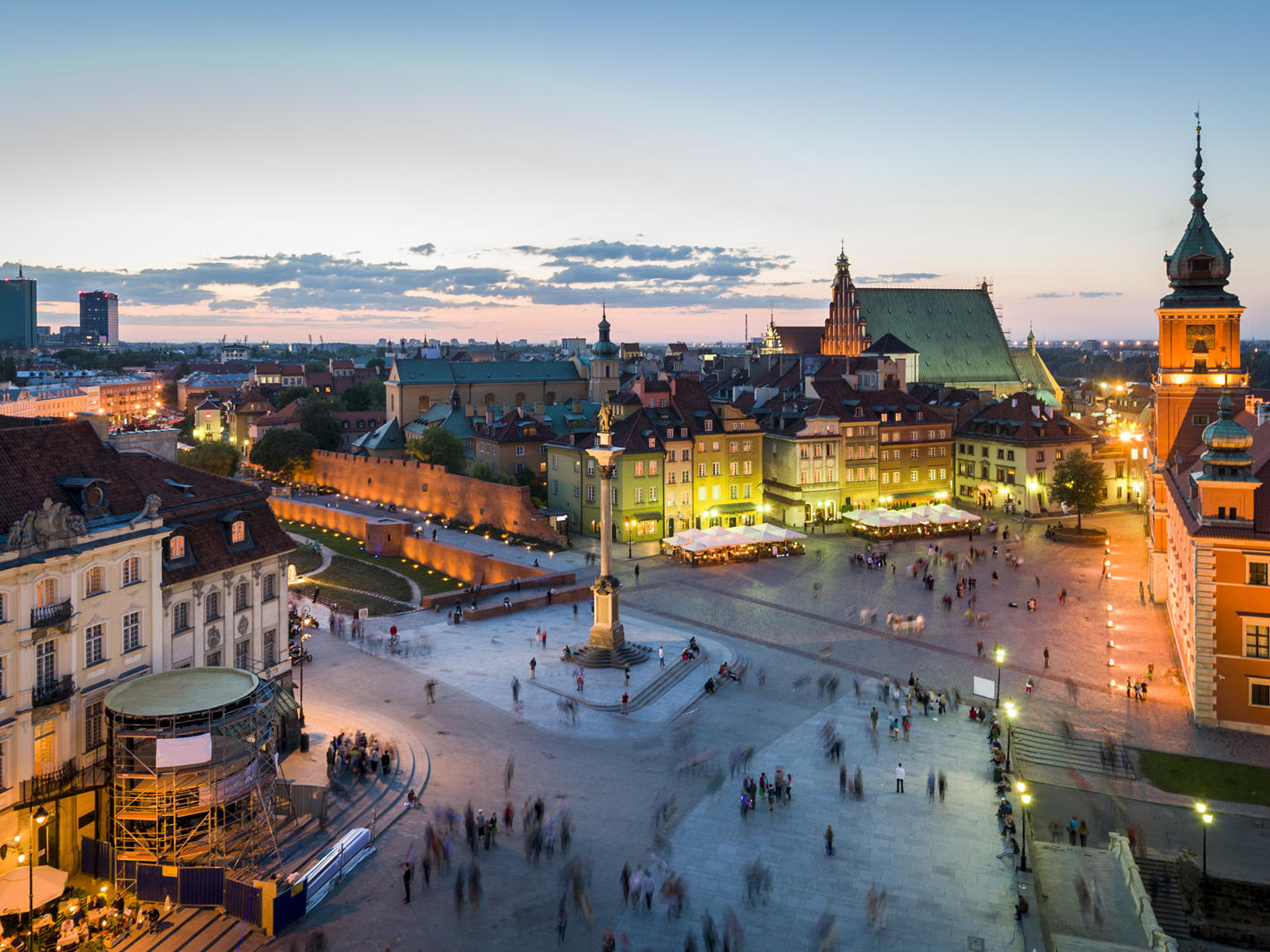Hotels In Central Warsaw Polonia Palace Hotel