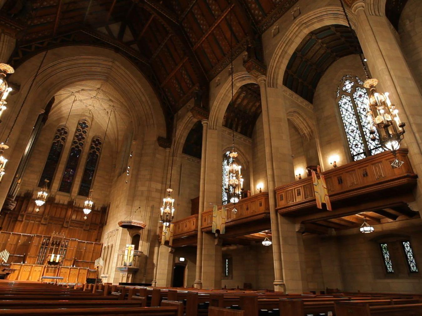 Interior of Fourth Presbyterian Church of Chicago
