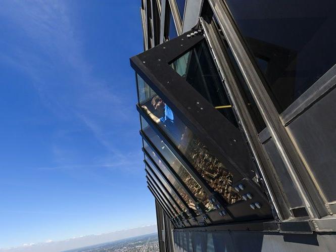 Hancock 360 Observation Deck 2