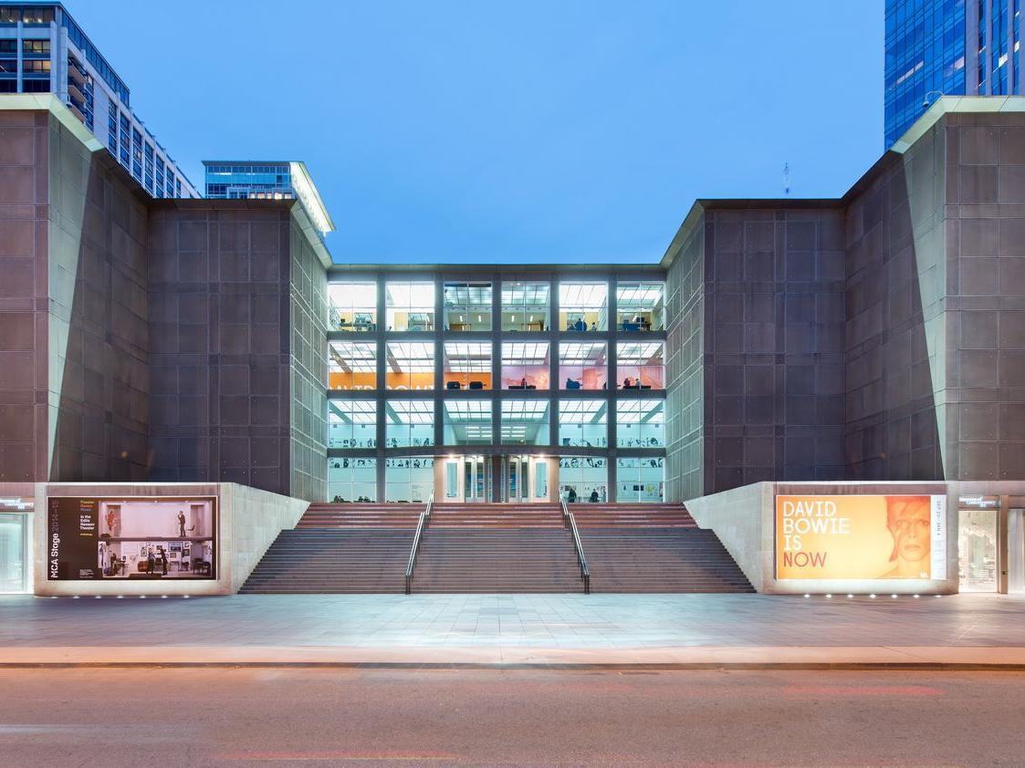 Exterior of Museum of Contemporary Art