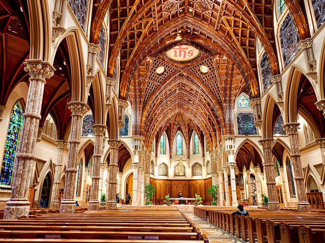 Interior of Holy Name Cathedral