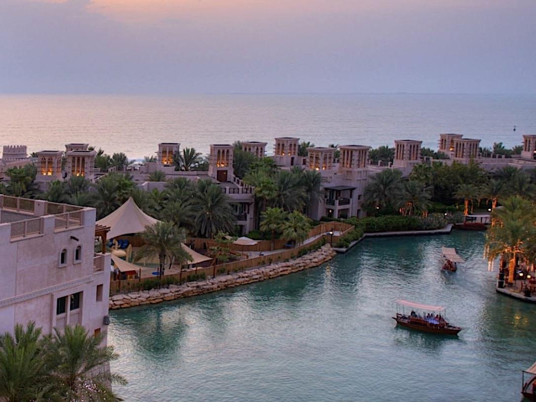 Madinat Jumeirah Winding canals