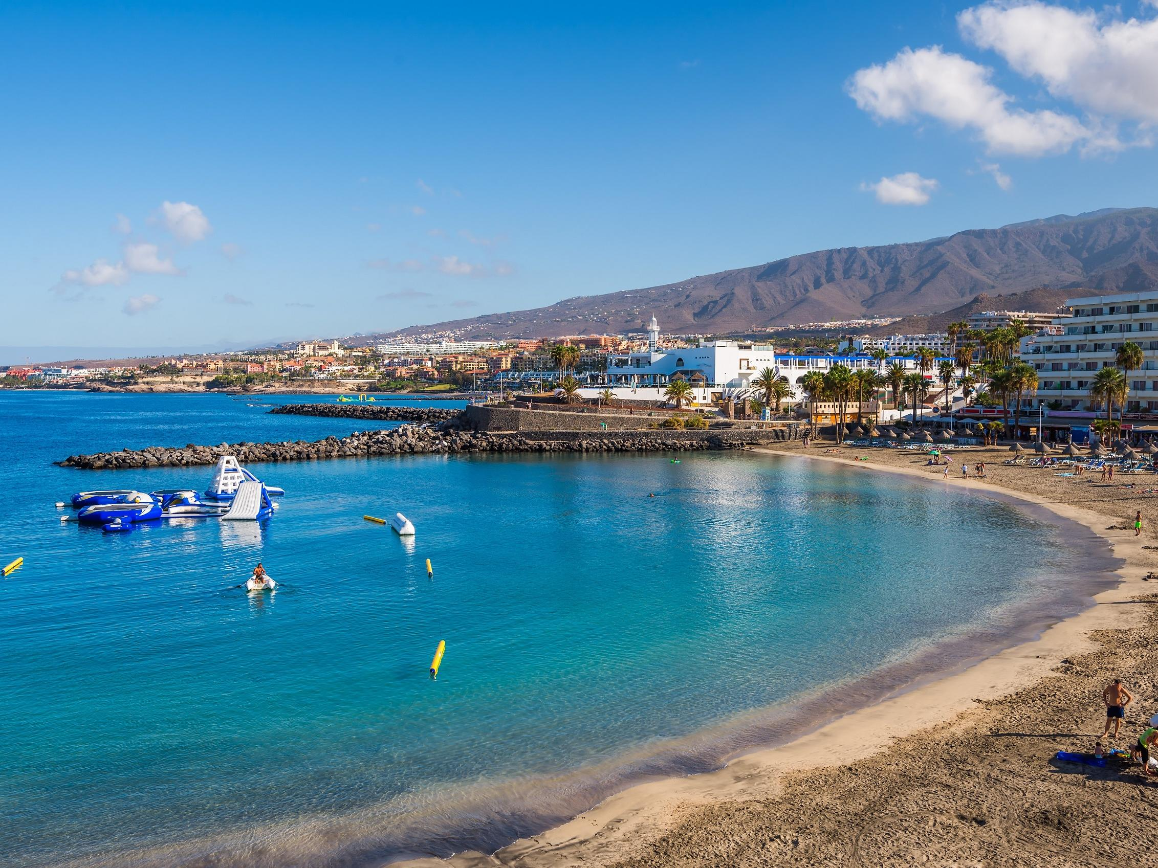 Puerto Colon Beach Tenerife