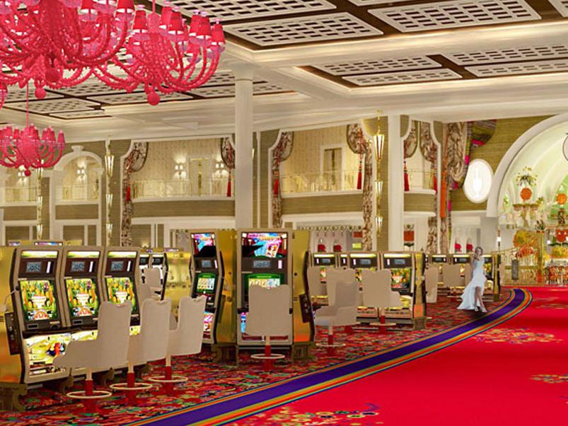 Casino games at Encore Boston Harbor
