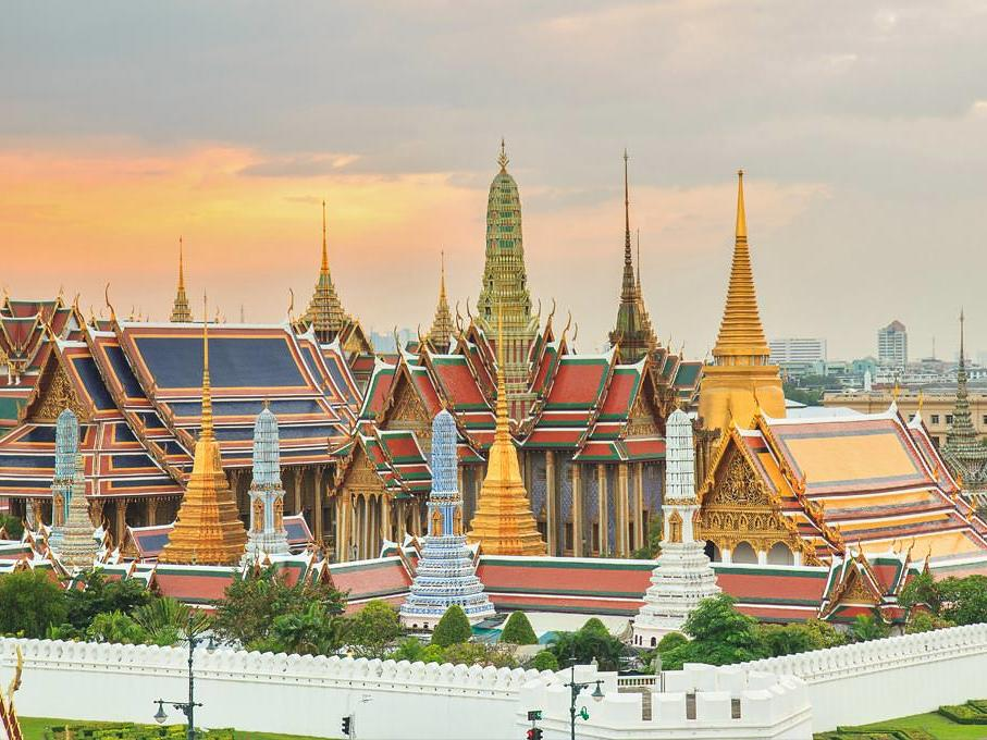 The Emerald Buddha or Grand Palace