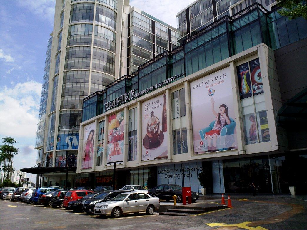 Empire Shopping Gallery Facade