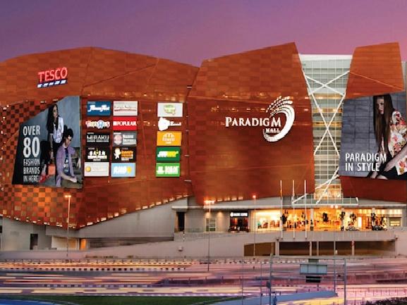 Paradigm Mall Facade