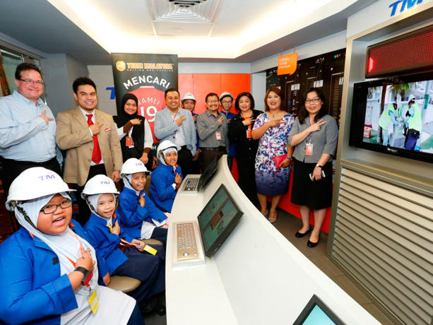 Interactive Session in Kidzania KL