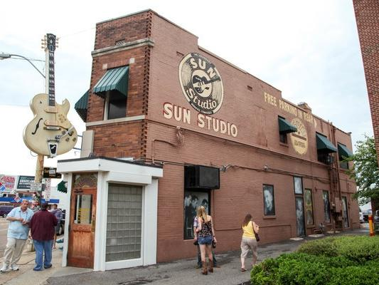 Sun Studio Building Exterior