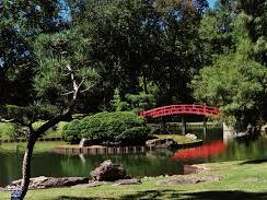 Bridge at Memphis Botanic Garden