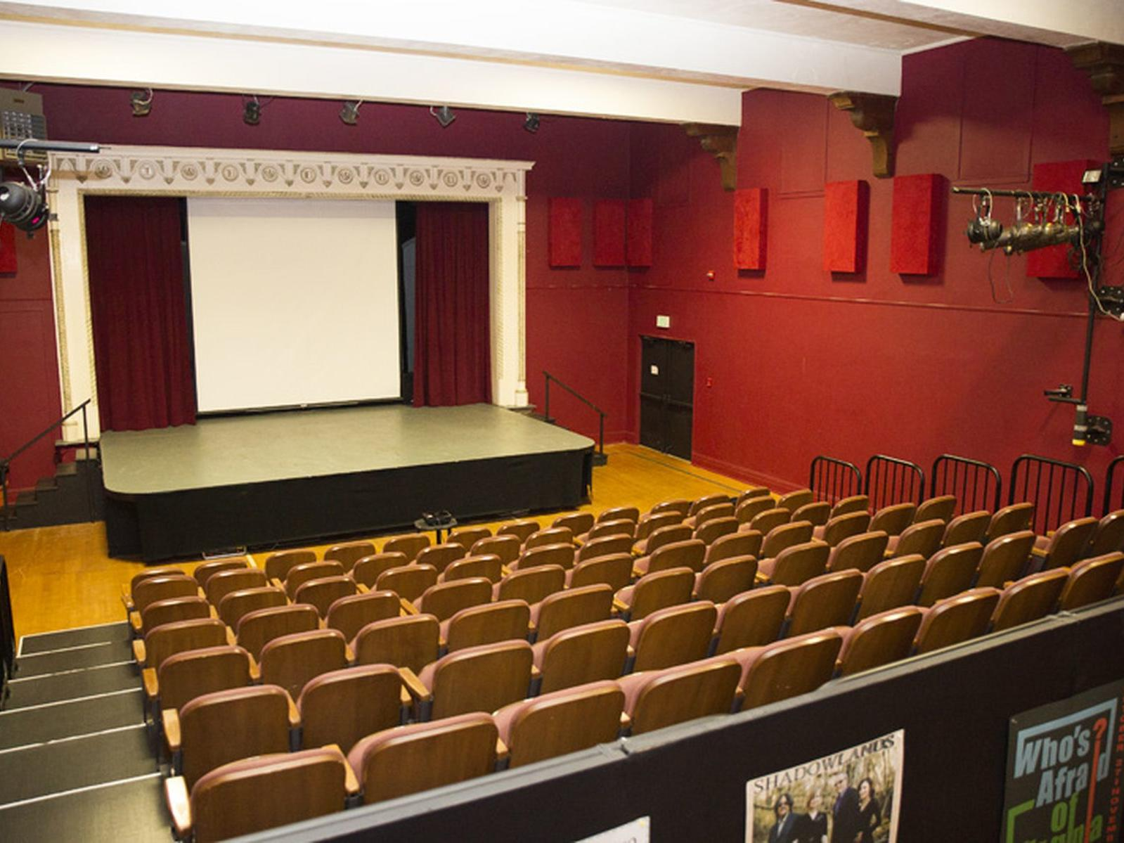 Auditorium at the Cambria Center for the Arts