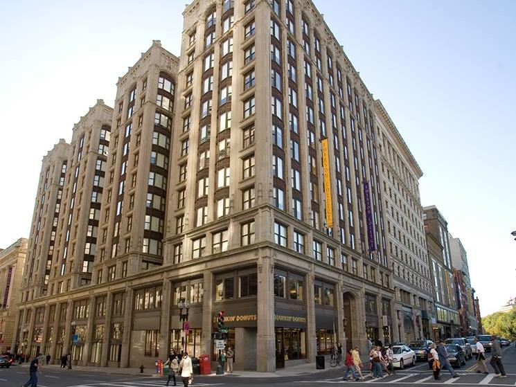 Exterior of Emerson College building