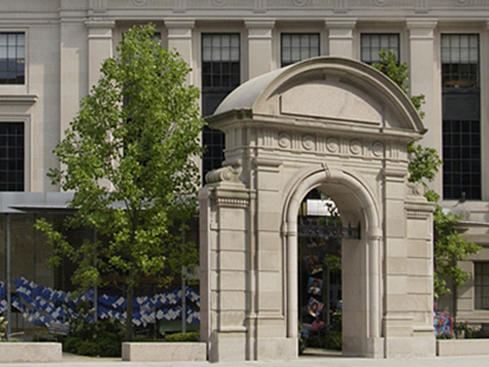 Exterior of The Mary Baker Eddy Library