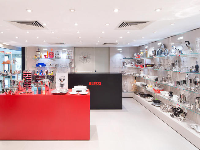 Shopping at the Alessi Outlet