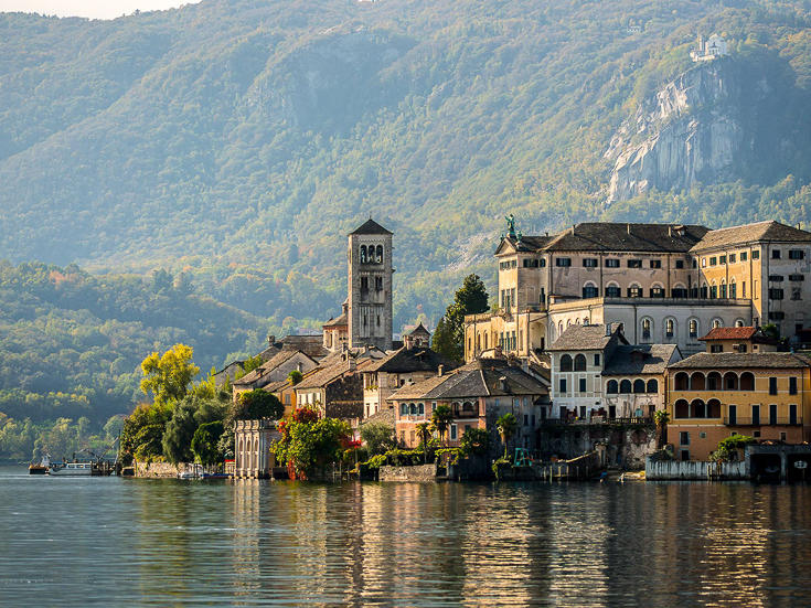 Orta, San Giulio and Sacro Monte