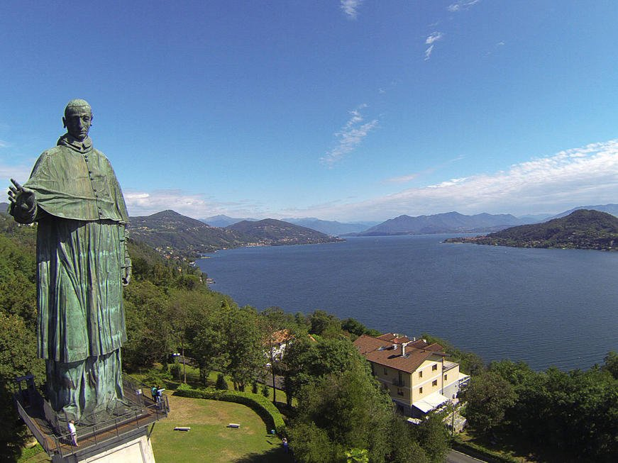 View from the San Carlo Statue