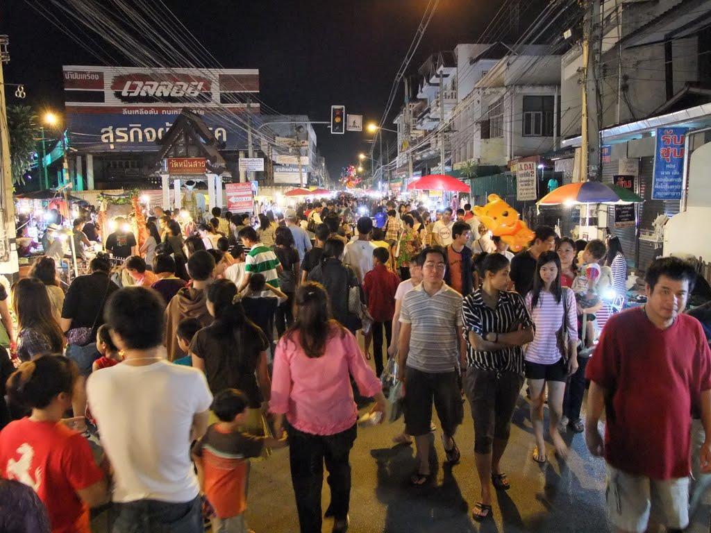 Wualai Walking Street