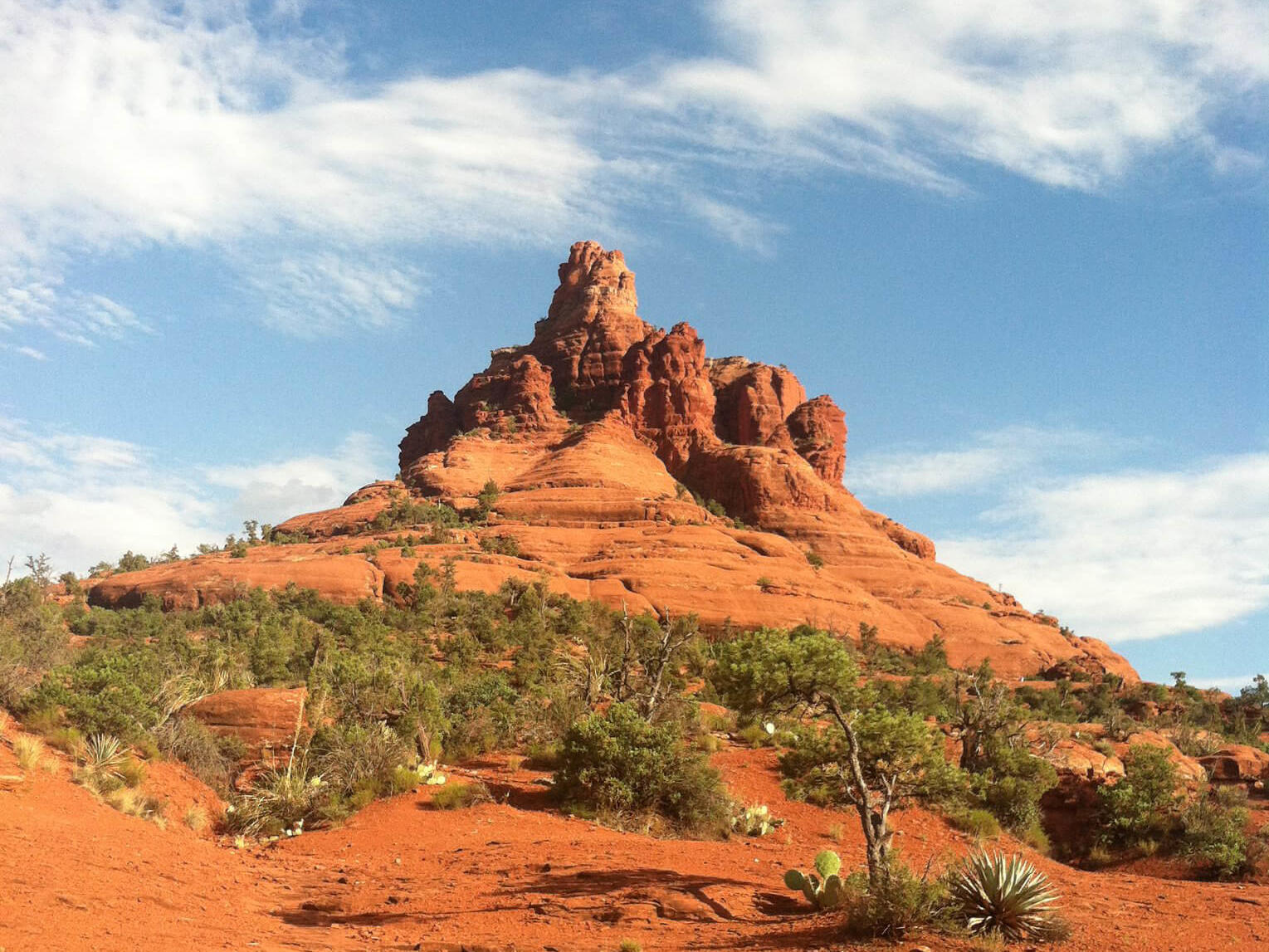 Bell Rock in Arizona.