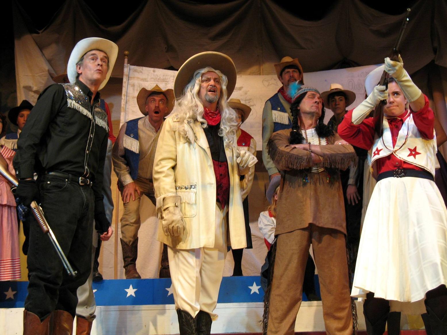 Summer Theatre production of Annie Get Your Gun.