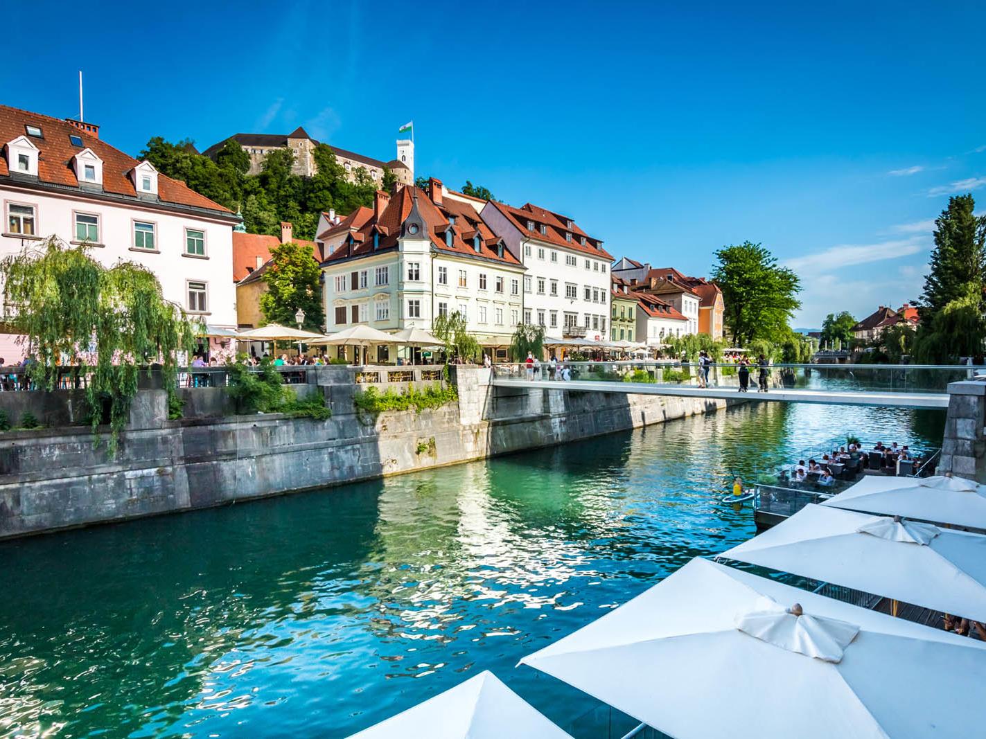 Ljubljana, Old Town