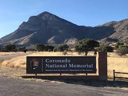 Sign for Coronado National Memorial