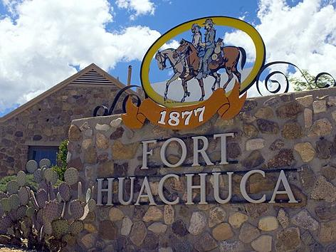 Sign for Fort Huachuca