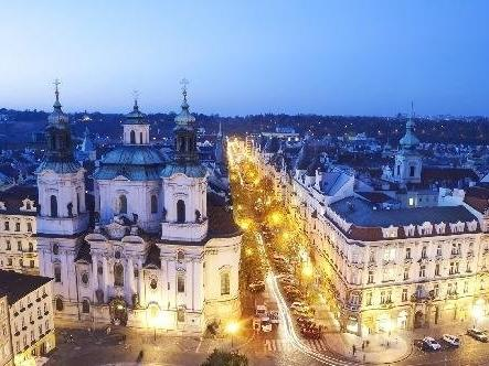 Paris Street in Prague