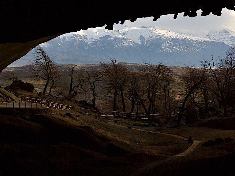 Landscape view of The Milodon Cave entrance near NOI Indigo