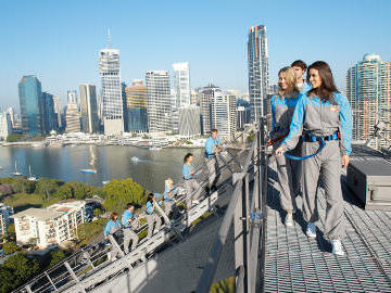 Brisbane story bridge climb near Royal on the Park hotel