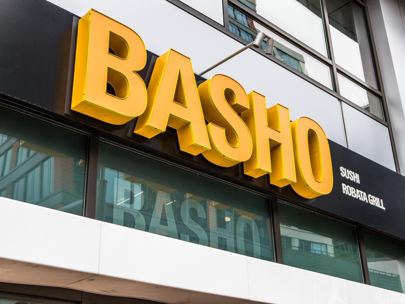 Basho Grill Restaurant Exterior
