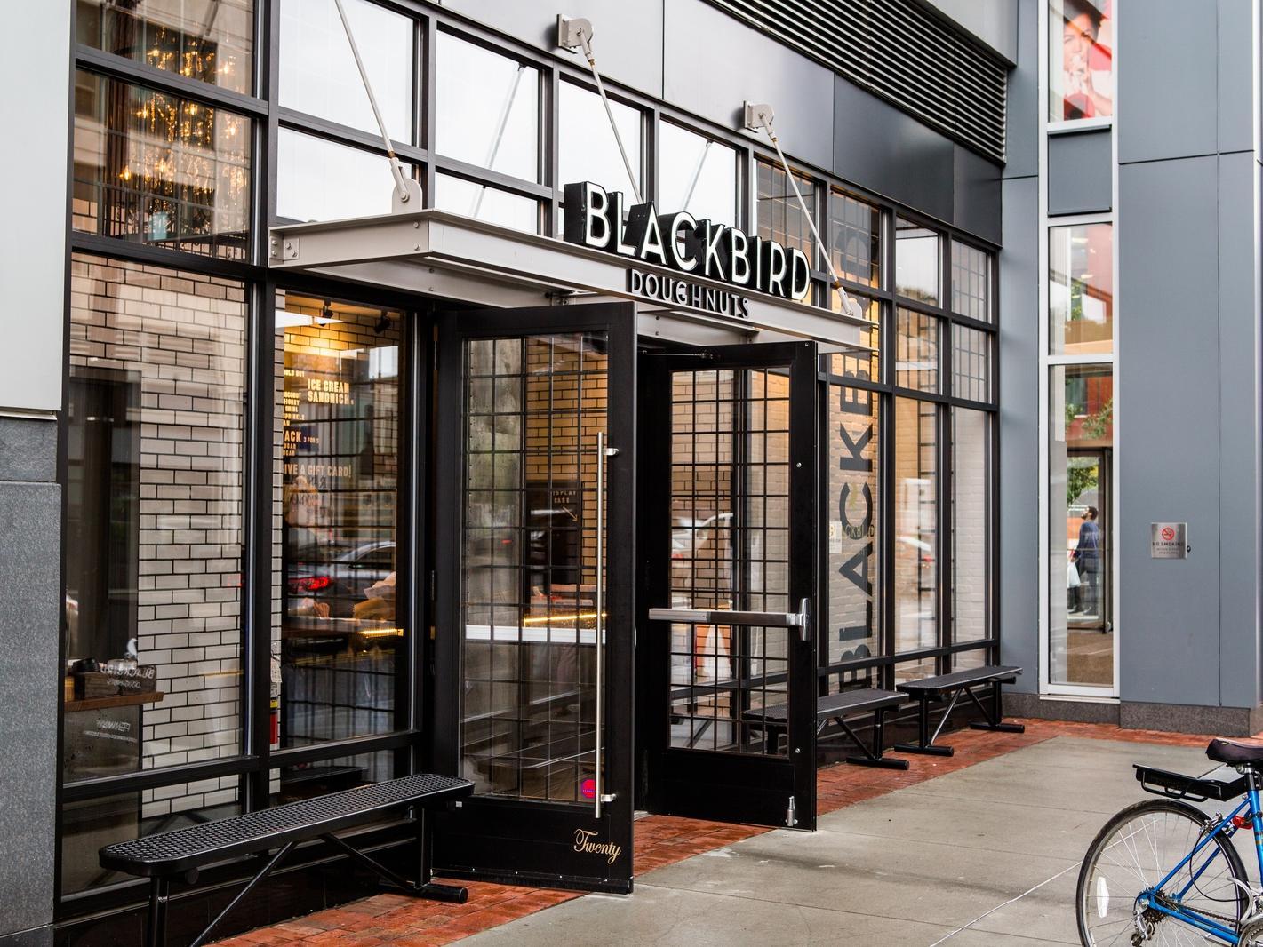 Blackbird Doughnuts Exterior
