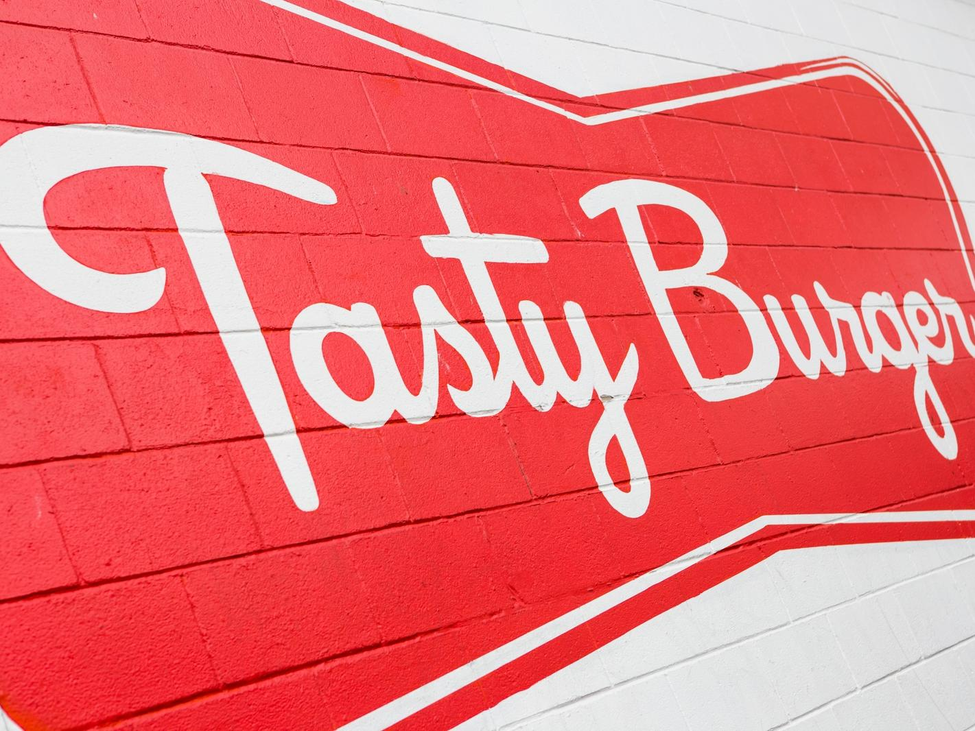 Tasty Burger Logo